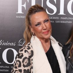 Lydia Lozano en una fiesta de depilación láser 'Fusión' en Museo Chicote