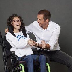 Manu Carreño posa para el Calendario Solidario Hospital San Rafael 2019