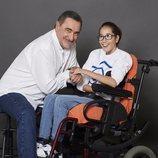 Carlos Herrera posa para el Calendario Solidario Hospital San Rafael 2019