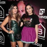 Amor Romeira en la presentación del single de Kiko Rivera: 'Mentirosa'