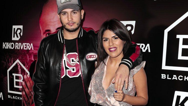 Chabelita Pantoja y Omar Montes en la presentación del single de Kiko Rivera: 'Mentirosa'
