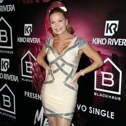 Marlene Morreau en la presentación del single 'Mentirosa' de Kiko Rivera