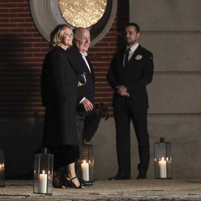 Amancio Ortega y Flora Pérez en la boda de Marta Ortega y Carlos Torretta