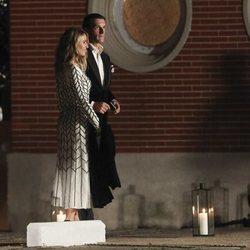 Rafael Medina y Laura Vecino en la boda de Marta Ortega y Carlos Torretta
