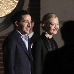 Marta Ortega y Carlos Torretta después de casarse