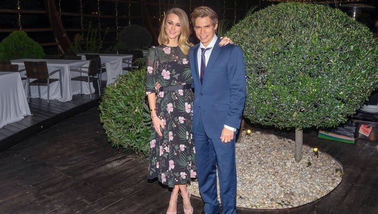Carlos Baute y Astrid Klisans en los premios SICAB 2018