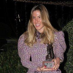 Carla Hinojosa en los premios SICAB 2018