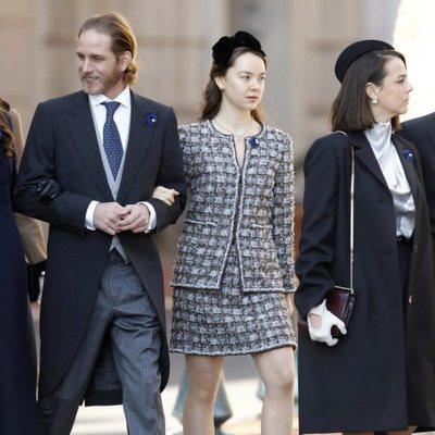 Tatiana Santo Domingo, Andrea Casiraghi, Alexandra de Hannover, Pauline Ducruet y Louis Ducruet en el Día Nacional de Mónaco 2018