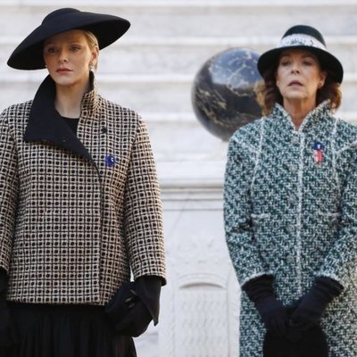 Las Princesas Charlene y Carolina de Mónaco en el Día Nacional de Mónaco 2018