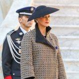 Charlene de Mónaco en el Día Nacional de Mónaco 2018