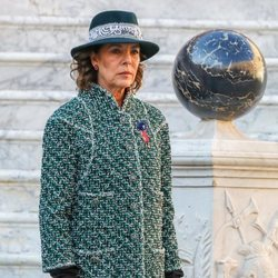 Carolina de Mónaco en el Día Nacional de Mónaco 2018