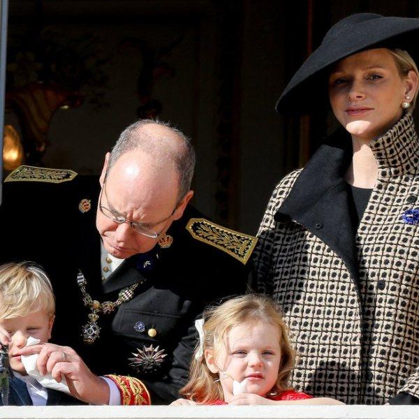 La Familia Real de Mónaco en el Día Nacional de Mónaco 2018