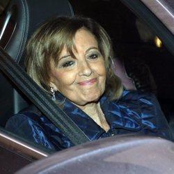 María Teresa Campos acompañando a su hija Terelu Campos a una nueva revisión