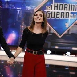 Ana Belén presentando nuevo disco en 'El Hormiguero'