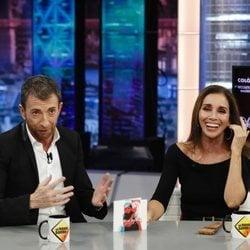 Ana Belén y Pablo Motos en 'El Hormiguero'