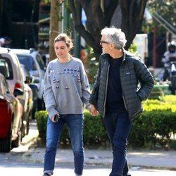 Alfonso Cuarón y Shererazade Goldsmith