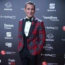 Jesús Vázquez en la gala 'People in red' 2018