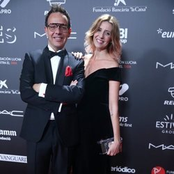 Ángel Llàcer y Andrea Vilallonga en la gala 'People in red' 2018