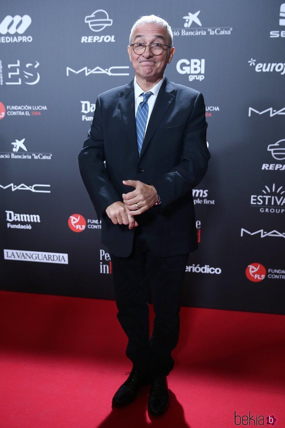 Javier Sardá en la gala 'People in red' 2018