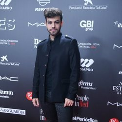 Agoney en la gala 'People in red' 2018