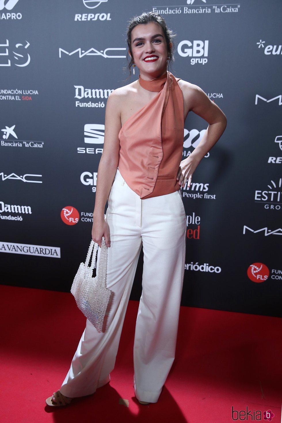 Amaia Romero en la gala 'People in red' 2018