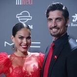 Mireia Canalda y Felipe López en la gala 'People in red' 2018