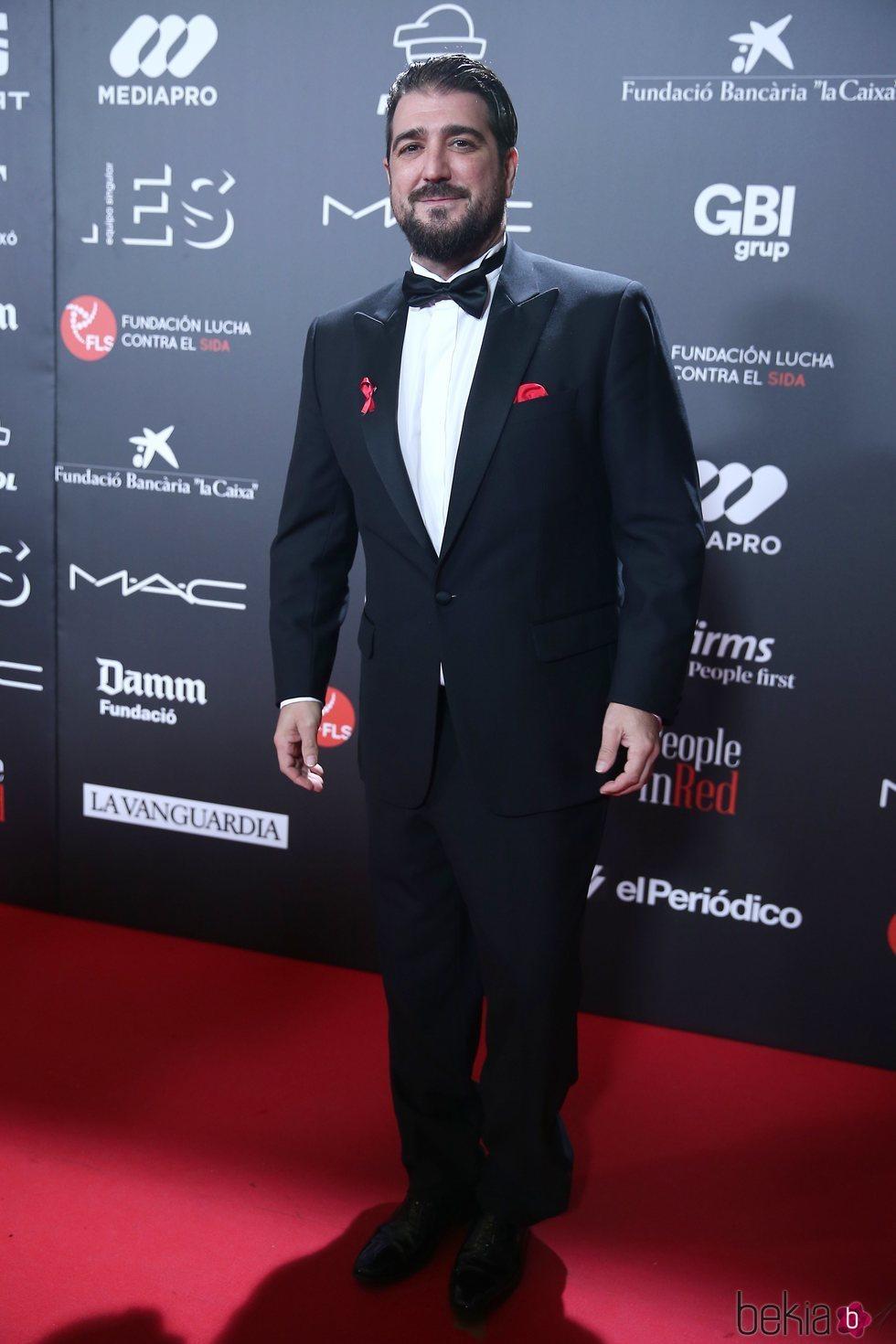 Antonio Orozco en la gala 'People in red' 2018