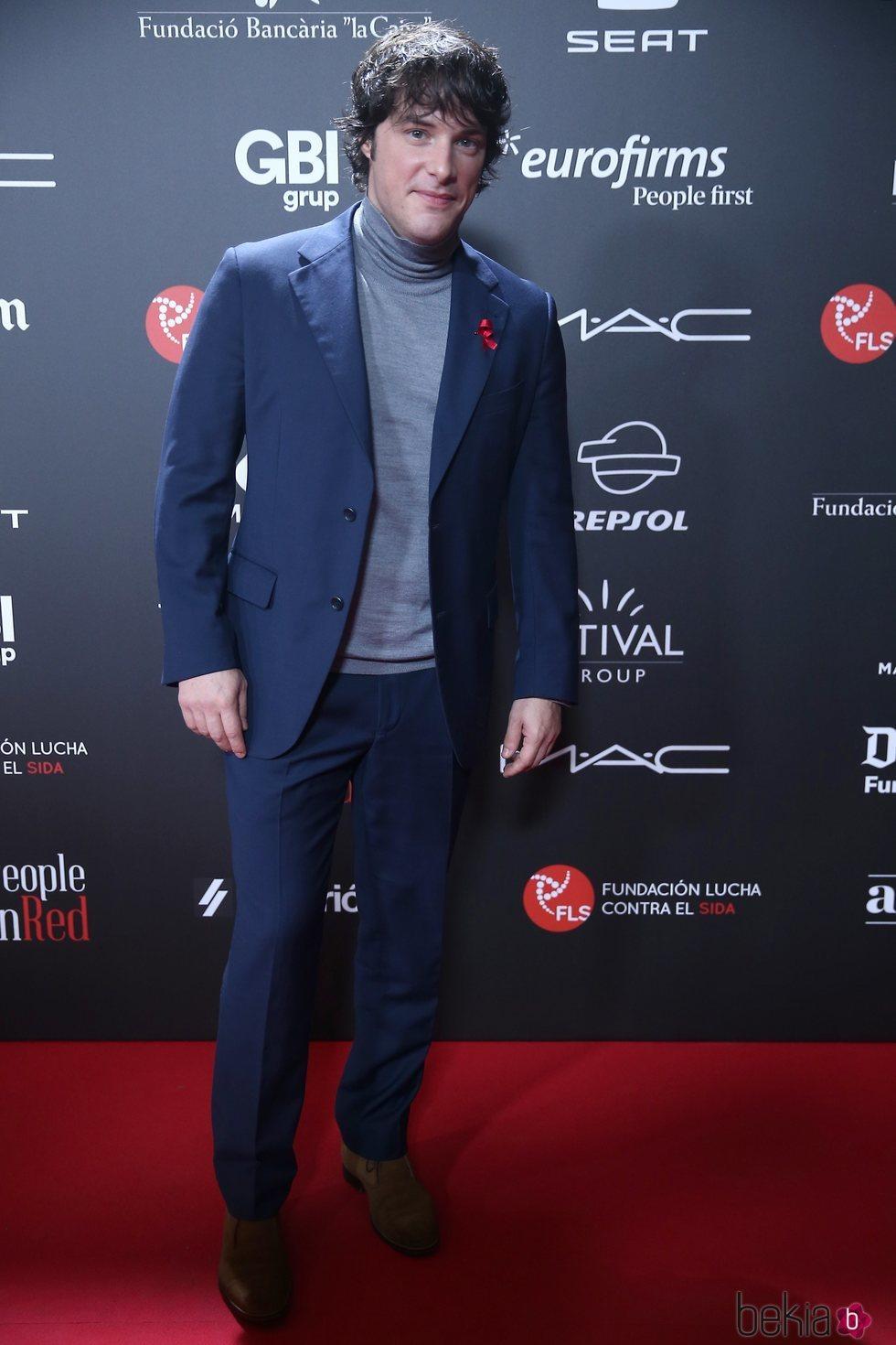 Jordi Cruz en la gala 'People in red' 2018