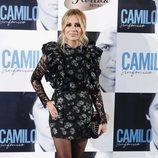 Marta Sánchez en la presentación de 'Camilo Sinfónico'