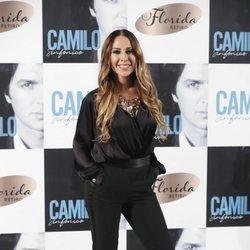 Mónica Naranjo en la presentación de 'Camilo Sinfónico'
