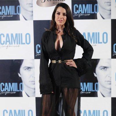 Ruth Lorenzo en la presentación de 'Camilo Sinfónico'