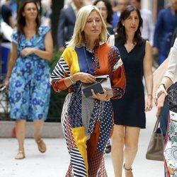 Marie Chantal de Grecia en la New York Fashion Week