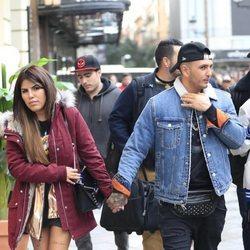 Chabelita Pantoja y Omar Montes paseando por Madrid
