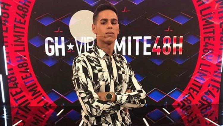 Anuar Beno en el plató de 'GH VIP 6'