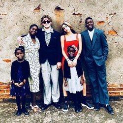 Los seis hijos de Madonna por el Día de Acción de Gracias 2018