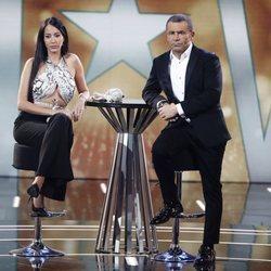Aurah Ruiz y Jorge Javier Vázquez en la Gala 11 'GH VIP 6'