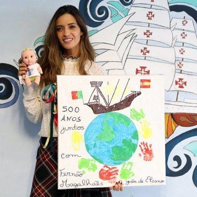 Sara Carbonero, solidaria en un hospital pediátrico de Oporto