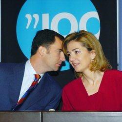 El Rey Felipe y la Infanta Cristina en el centenario de LaCaixa