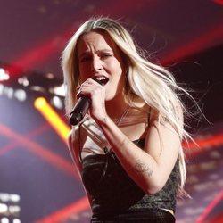 María canta en la gala diez de OT 2018