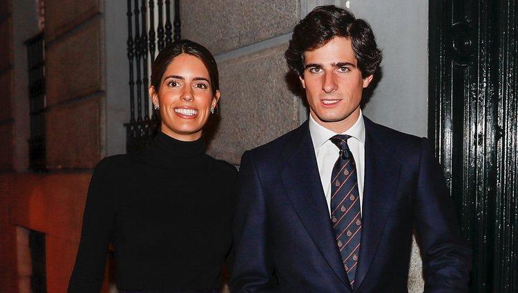 Fernando Fitz-James Stuart y Sofía Palazuelo en la fiesta de 50 cumpleaños de Eugenia Martínez de Irujo