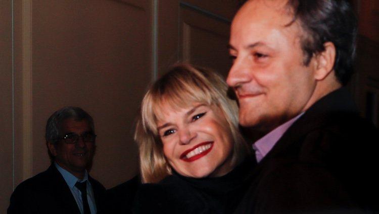 Eugenia Martínez y Narcís Rebollo en la fiesta de 50 cumpleaños de la Duquesa de Montoro