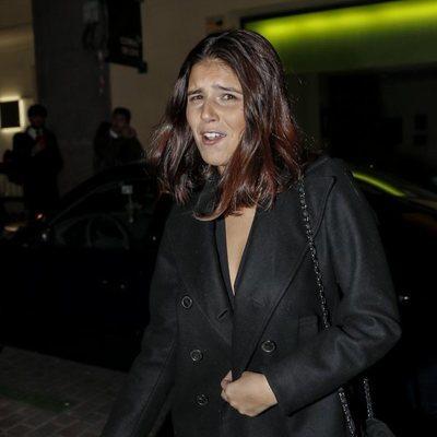 Cayetana Rivera en la fiesta de 50 cumpleaños de Eugenia Martínez de Irujo