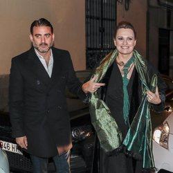 Ainhoa Arteta y Matías en la fiesta de 50 cumpleaños de Eugenia Martínez de Irujo