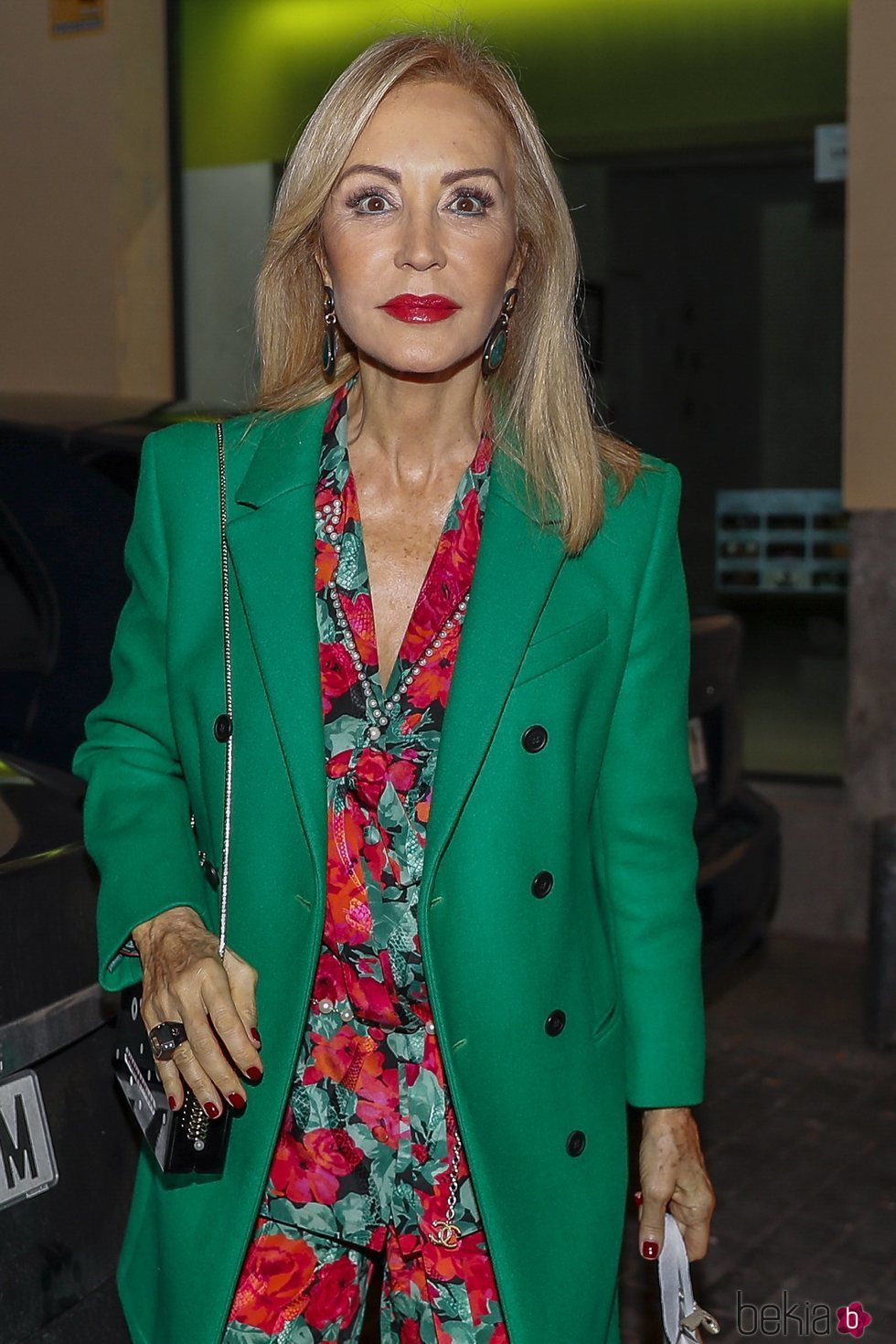Carmen Lomana en la fiesta de 50 cumpleaños de Eugenia Martínez de Irujo