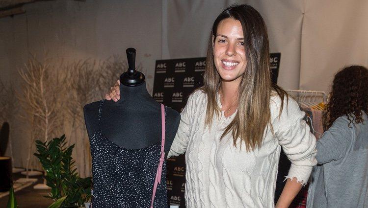 Laura Matamoros en el mercadillo solidario de Nagore Robles