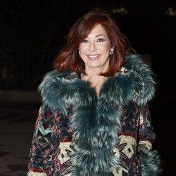 Ana Rosa Quintana, en la cena de Navidad de la productora Unicorn TV