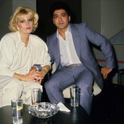 Bárbara Rey y Ángel Cristo