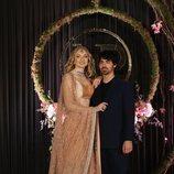 Sophie Turner y Joe Jonas en Nueva Delhi