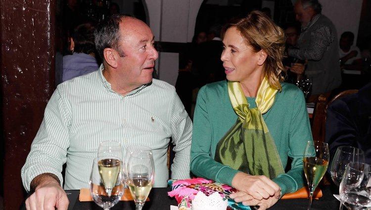 Ágatha Ruiz de la Prada y El Chatarrero en el estreno del espectáculo 'Onírico'