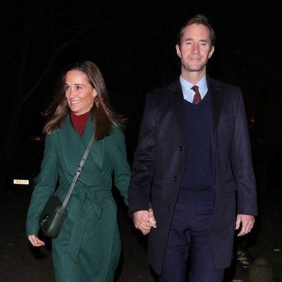 Pippa Middleton  y James Matthews en el concierto navideño de la Fundación Henry van Straubenzee